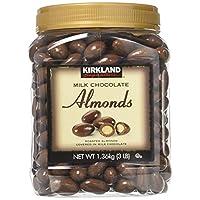 Kirkland Signature 牛奶巧克力杏仁 2 瓶裝