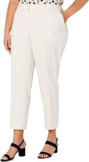 Bar III 女式象牙色口袋工作裤尺码 20W