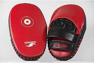 Dorawon Nankin 一对长弧形爪子,适合成人,黑色和红色