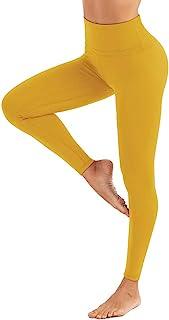 BOSTANTEN 女式高腰打底裤 收腹瑜伽裤 超柔软跑步紧身裤 带内袋