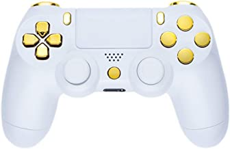 控制器 - 钢琴白/金色(PS4)