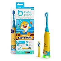 BriteBrush - 互动式智能牙刷,含婴儿鲨鱼