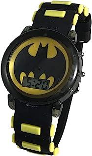 蝙蝠侠男孩发光数字手表