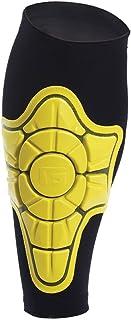 G Form SHN005001E 小腿护套,男女通用,成人,黑色/黄色,尺码 L