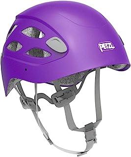 PETZL 女式 Borea 攀岩头盔,顶部和侧面保护,紫罗兰色