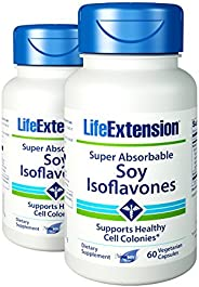 Life Extension - *吸收大豆 - 60 粒(2 瓶装)