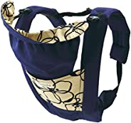 Eightex 儿童背带 Smanieres Prele 新生儿即可使用 5种使用方式 蓝色花纹 01-097
