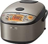 ZOJIRUSHI 象印 NP-HCC10XH 帶感應加熱系統的保溫電飯煲,不銹鋼深灰,1升