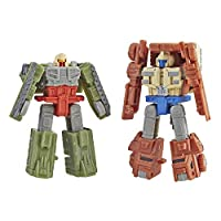 Transformers E3558 Generations 大戰:Siege Micromaster Wfc-S6 Autobot Battle Patrol 2 Pack 動作公仔玩具