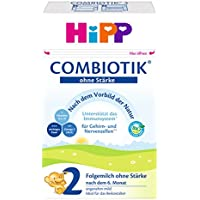 HiPP 喜宝 Bio ComBiotik 2段(适用于6月以上儿童) 无淀粉幼儿奶粉,4罐装(4 x 600g)