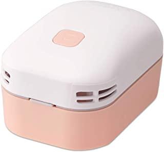 PLUS 普乐士 桌面吸尘器 空气 开关 粉色 电池式 VC-001AI 36326