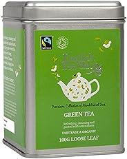 English Tea Shop 公平贸易绿茶 - 100克散叶茶 锡罐装