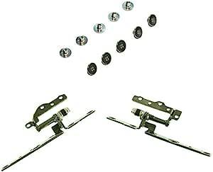 Huasheng Suda 1 套替换件 适用于戴尔 Inspiron G3 15 3590 G3 3500 P89F LCD 屏幕铰链左+右套装 带 10 个螺丝