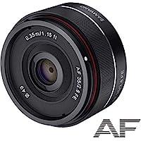 Samyang 8022 AF 35 mm f2.8 相機鏡頭適用于 Sony FE - 黑色