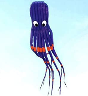 7M 大号章鱼眼鹦鹉风筝带手柄和绳子,海滩公园花园户外乐趣