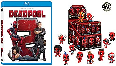 He's Really A Jack Of All Trades: Deadpool 2 + 1 个 Funko 神秘迷你盒(2 片电影/人物套装)Ryan Reynolds
