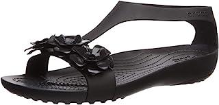 Crocs 卡骆驰 女士Serena Embellish海滩和泳池鞋