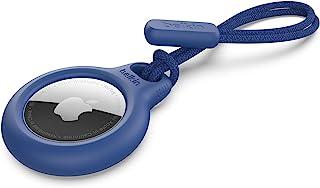 Belkin AirTag 保护套带表带(*支架保护套适用于带防刮配件的空气标签) - 蓝色