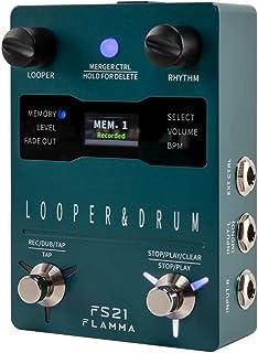 FLAMMA FS21 鼓机环踏板吉他踏板 160 分钟录音容量 100 个鼓槽支持软件编辑外部脚踏开关