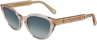 Chloe CE757S(749)-5519 太阳镜,帧尺寸: 55毫米,鼻托尺寸: 19毫米,桃红色