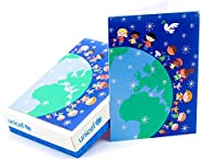 Hallmark UNICEF 盒装圣诞卡,全世界儿童(20 张卡片和 21 个信封)