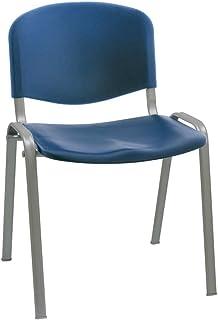 Stuhl Express 椅子,钢,蓝色,55 x 53 x 79厘米