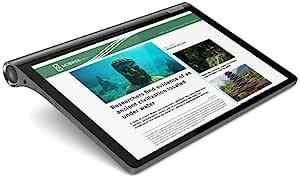 Lenovo 联想 Yoga Smart Tab,10.1 英寸全高清安卓平板电脑,八核处理器,64GB 存储,4GB 内存,铁灰色,ZA3V0005US