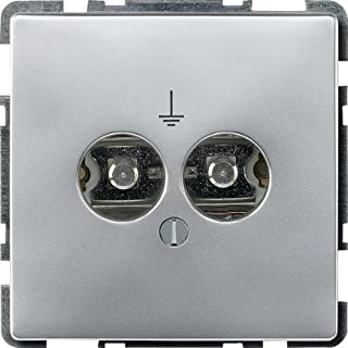 Merten 297360 设备连接插座插头,铝,系统风速箱