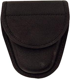 TRU-SPEC 9035000 黑色单尼龙手铐,5.08 厘米高,10.16 厘米宽,15.24 厘米长,1680 旦弹道装布,均码