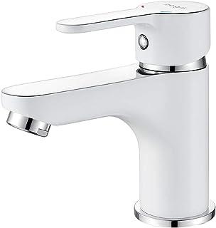 Ibergrif Square,水槽搅拌机,浴室水龙头,单杆浴室搅拌机,白色