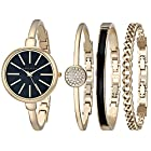 ANNE KLEIN AK/1470 女款时装腕表手镯套装 价格新低 *2件 357.64元(合178.82元/件)