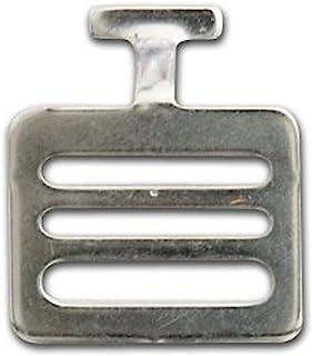 CHAMPRO 肩垫 T 型挂钩 - 足球,黑色,1 英寸(约 2.5 厘米)