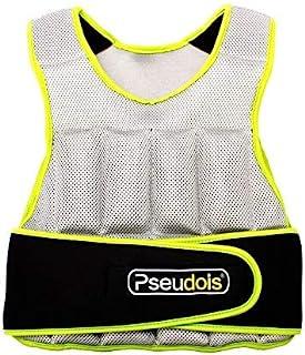 MOVSTAR 加重背心,可调节加重背心,适合跑步、锻炼、有氧运动、步行和举重,适合男士和妈妈,10 磅
