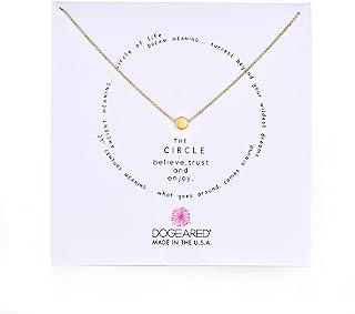 Dogeared Karma The Circle 项链 16英寸/约40.64厘米