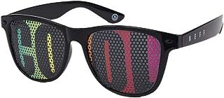 NEFF 男式日常镜片印花旅行者太阳镜 Uva Uvb 防护罩