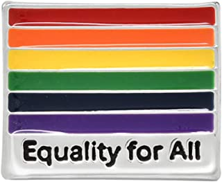 Fundraising For A Cause | LGBTQ Equality for All Rainbow Pins - 男式和女式骄傲别针