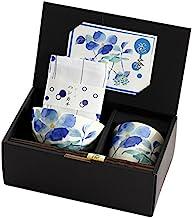 山下工藝 Yamasita Craft 禮品套裝 花水木 23×10.5×高9.8厘米 飯碗茶杯套裝 附手帕 45015540