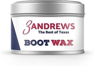 3 Andrews - 靴蜡,天然蜂蜡靴抛光,皮革清洁剂和家具护理剂,7 盎司