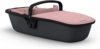 Quinny Lux 婴儿车配件,适用于 Buggy Zapp Flex 和 Zapp Flex Plus 婴儿车,超轻婴儿提篮,坚固耐用的创新设计,适合出生至 6 个月的宝宝,blush on graphite