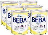 Nestlé 雀巢 BEBA EXPERT HA 水解婴儿奶粉 3段(适用于10个月以上婴儿),6罐装(6 x 800g)