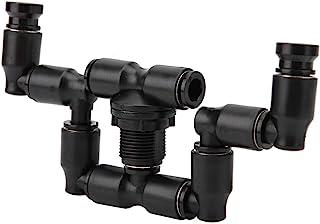 OKBY Sprinkler 雨林罐水生宠物冷却系统,爬行动物慢跑喷雾洒水器雨林罐 360 可调节水族箱系统连接 1/4 英寸(约 0.6 厘米)浴缸