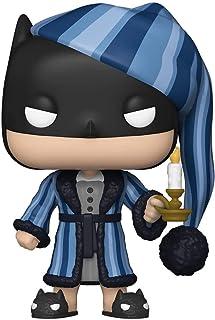 Funko 50653 POP 英雄系列:DC Holiday-Scrooge 蝙蝠侠漫画 S1 收藏玩具,多色