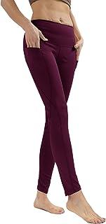 Private Island 女式 UPF 50+ 侧口袋长款打底裤裤游泳沙滩泳装*泳衣