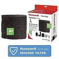Honeywell 霍尼韦尔 HRFAPP1 Plus 家用预过滤器,减少异味,让气体通用,HRF-APP1,黑色