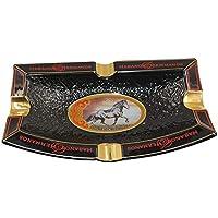 H&H 雪茄烟灰缸 - 绅士俱乐部系列 - 30.48 厘米 x 17.78 厘米 x 5.08 厘米... Azabache