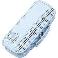 Raymay藤井 笔盒 顶部衬布格子 蓝色 FSB145A