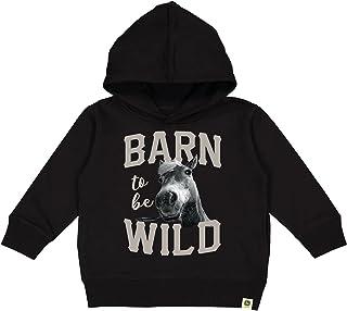 John Deere Barn To Be Wild 儿童连帽衫