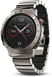 Garmin Fenix Chronos, Titanium with Brushed Titanium Hybrid Watch Band 钛 1.2