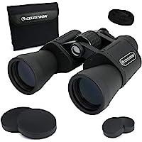 Celestron 星特朗 UpClose G2 10x50 Porro双筒望远镜,带多层镀膜BK-7棱镜玻璃–防水双筒…