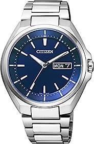 [西铁城]CITIZEN ATTESA 光动能电波表 日期显示 AT6050-54L 男士